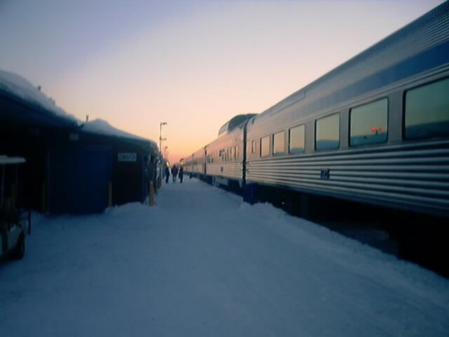 カナダのVIA鉄道